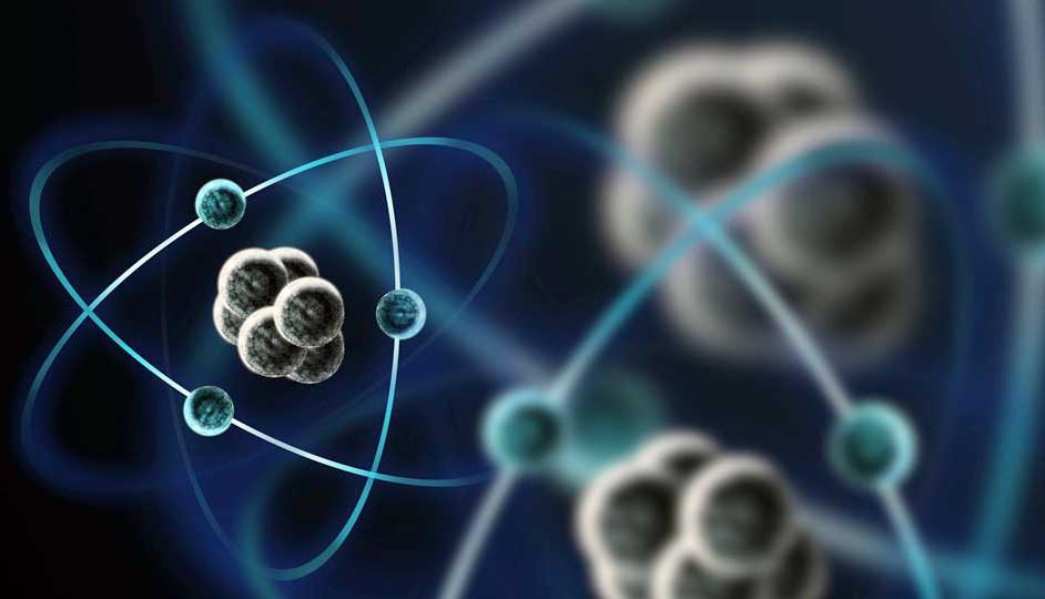 Alegoría al tratamiento por radiación subatómica.