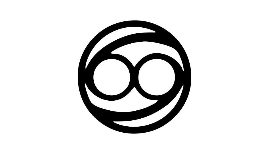 26. El signo de Cáncer incluido en una aproximación a las tecnologías de exploración y radiación (negro sobre blanco).