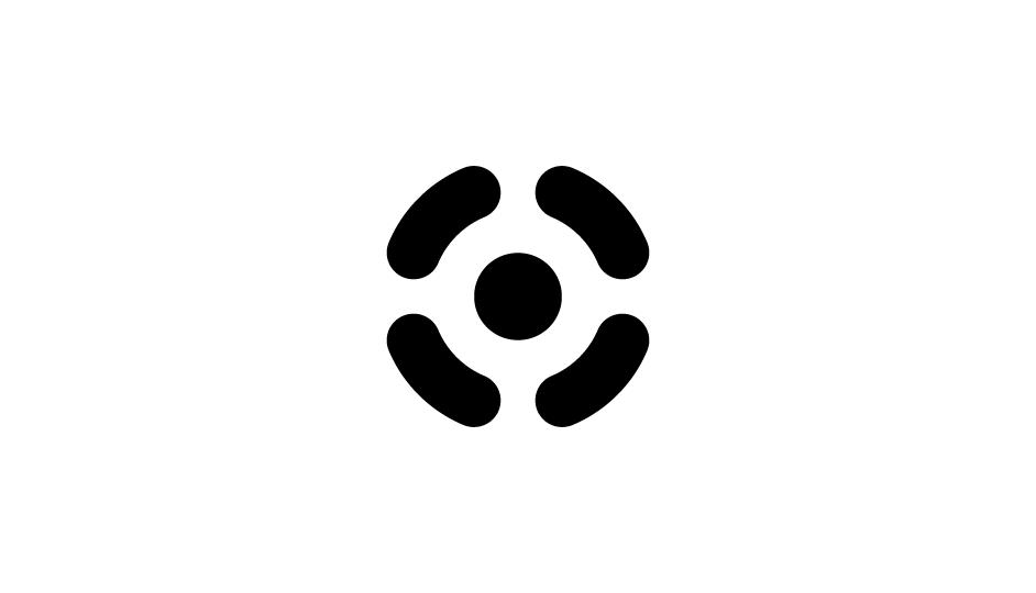 34. Alusión simplificaca a los métodos radiológicos y a las células carcinógenas (negro sobre blanco).