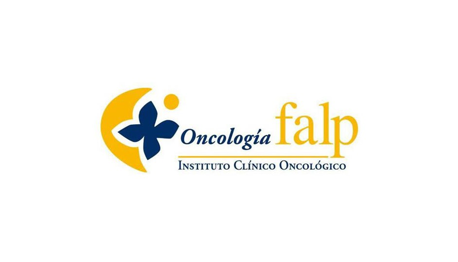 Insituto Clínico Oncológico FALP: se apoya en un juego ambiguo relacionado con la flor y el sol.