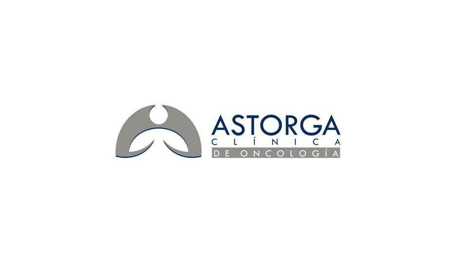 Astorga: el isotipo incorpora la ide del cangrejo, origen de la palabra cáncer.