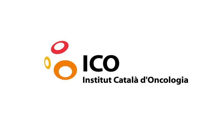 Instituto Catalán de Oncología: simple y contundente, asocia signos de alteración celular y radiación.