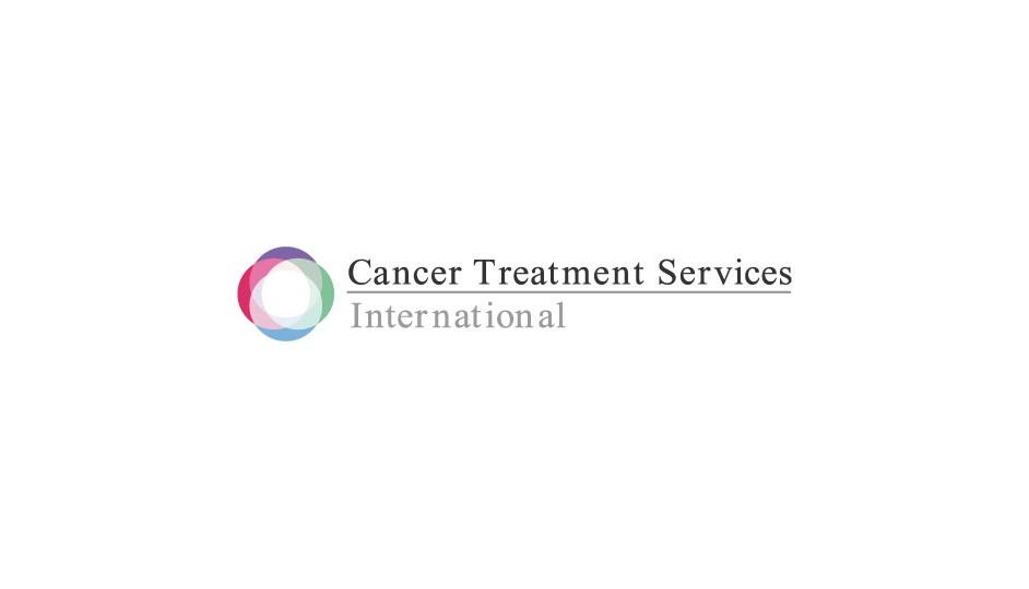 Cancer Treatment Services: composición equilibrada de formas que apuntan a significados propios.