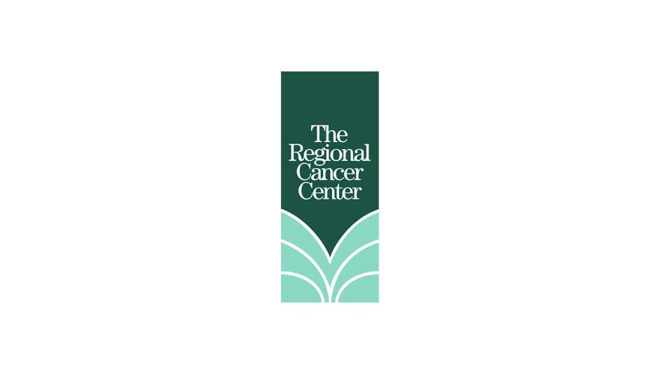 The Regional Cancer Center: síntesis formal para una marca simple y llamativa.