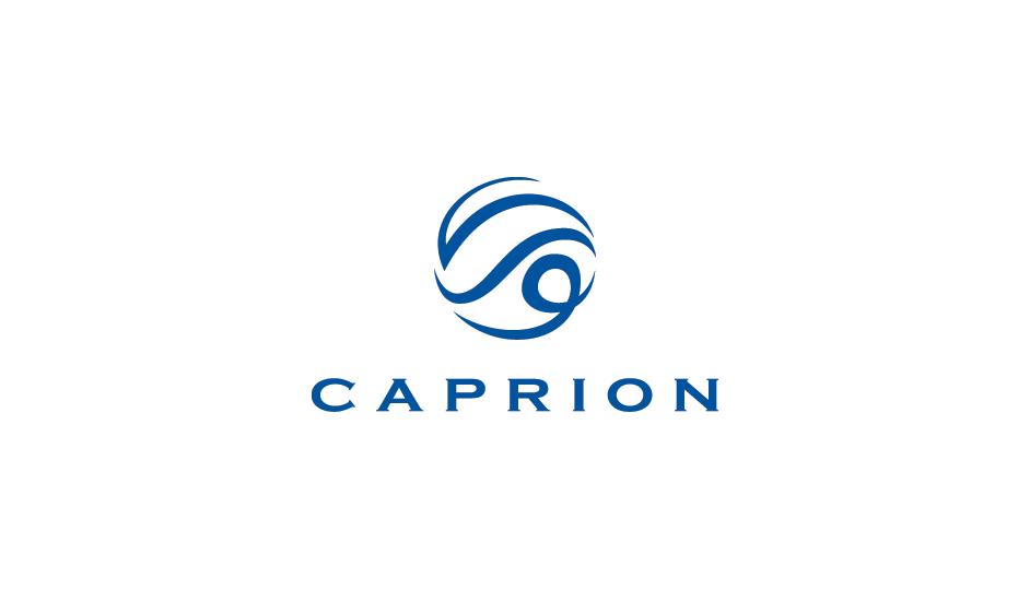 Caprion: isotipo de un proveedor de servicios de biomarcadores y soluciones de monitoreo médico.