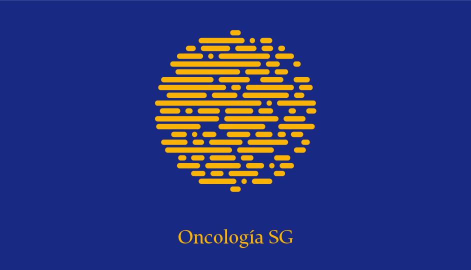 Isotipo OSG (amarillo sobre azul).