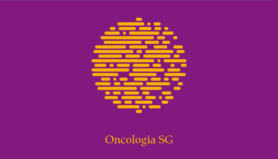 Isotipo OSG (amarillo sobre complementario dividido derecho).