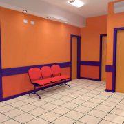 Privado, espera y habitaciones de Neonatología.