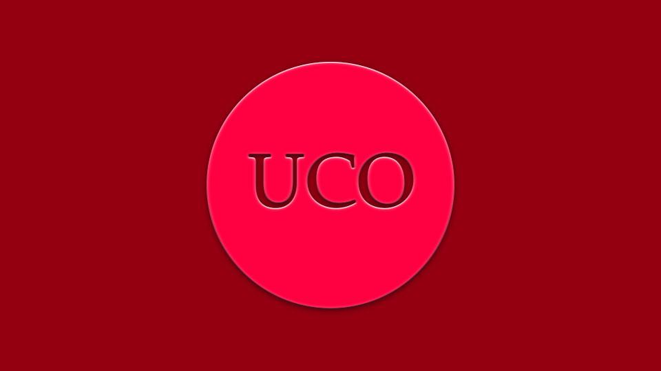 Signos visuales para la marca UCO: logo genérico