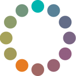 Círculo cromático: esquema de choque.