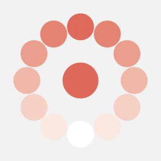Color básico y variantes de saturación para Nacer y Crecer.