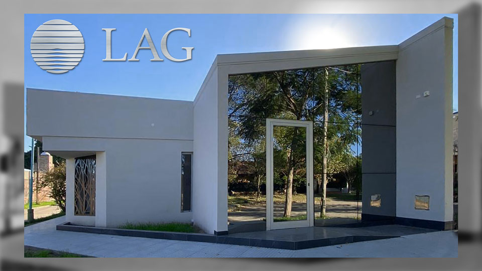 Fachada LAG · GSG · Centro Médico Laguna, Santo Tomé, Santa Fe, Argentina.
