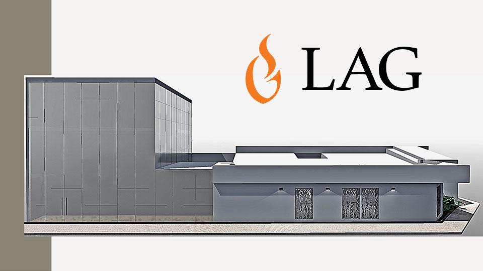 LAG: Centro Médico Laguna GSG. Determinación del logotipo.